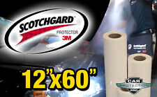 "12""x 60"" Genuine 3M Scotchgard Paint Protection Clear Bra Film Bulk Roll Strip"
