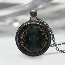 Lord Of The Rings Inspired Necklace, Gondor Tree Pendant, Movie Jewelry