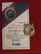 GÖDE Orden Anhalt 1836 - Hausorden Albrecht des Bären - Zertifikat Nr.0903