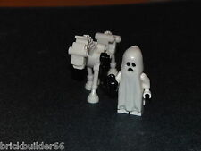 LEGO WHITE GLOW IN THE DARK SKELETON HORSE WITH GHOST