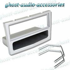 Vauxhall Corsa C 2004  Silver Single DIN Car Stereo CD Facia Fascia with Keys
