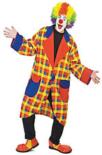 Clubbers Clown Jacket Circus Dress Up Men Costume One Size
