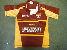 Huddersfield Giants Medium Boys Signed Rugby League Shirt