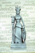 Saint Seiya Myth Cloth Diorama Decoration Statue Athena Model Resin Gray SC93