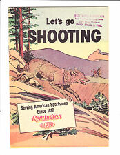 Lets Go Shooting  No.8    : 1960s? :     : Remington Giveaway! :