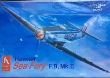 Hobby Craft Hawker Sea Fury F.B. Mk.II 1:48 Scale Airplane Model Kit #HC1583