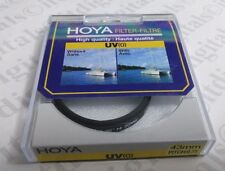 43mm Hoya UV Lens Safety Protection Glass Lens Filter Japan Coated 43 mm New