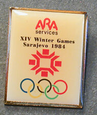 PIN OLYMPIA ARA SERVICES GAMES OF THE OLYMPIAD SARAJEVO 1984 (AN2468)