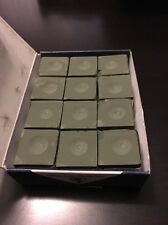 Silver Cup Billiard Chalk - Olive