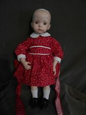 "Dianna Effner Reproduction Doll, ""Jenny"", porcelain & Cloth, 18"" Tall"