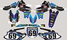 2003-2005 Yamaha YZ250f 450f YZF 250 450 Graphics Decal fender shrouds stickers