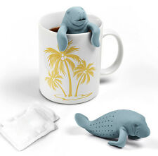 Manatee Tea Infuser Fred & Friends Manatea Silicone Loose Leaf Steeper New