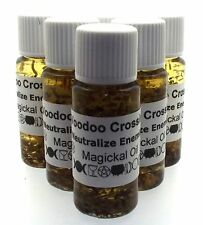 Voodoo Crossing Herbal Infused Ritual Botanical Spell Incense Oil