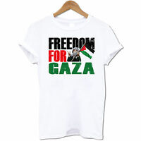 Freedom For Gaza Peace For Palestine Stop The War Men's T Shirt #2