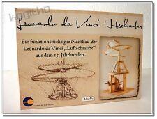 NUOVO Leonardo da Vinci Elicottero Kit legno Elica 38 cm