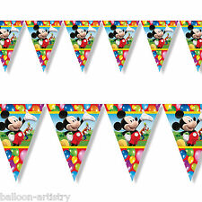 2M DISNEY MICKEY MOUSE palloncini clubhouse PARTY pennant Banner Bunting