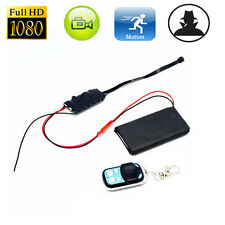 HD 1080P DIY Module SPY Hidden Camera Video MINI DV DVR Motion w/ Remote Control