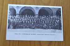 CARTOLINA TORINO CONCORSO INT DI MUSICA RARA NON VIAGG 1902 SUBALPINA ZZ