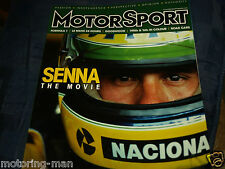 AYRTON SENNA THE STORY MOVIE TOLEMAN MCLAREN LOTUS  ASTON MARTIN NIMROD LE MANS