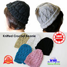 Unisex Fashion Knitted Crochet Beanie Hat Cap Skin Snow Basic Beanie