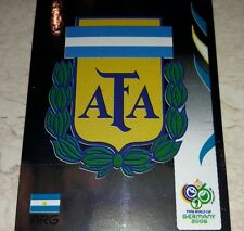 FIGURINA CALCIATORI PANINI GERMANY 2006 ARGENTINA SCUDETTO ALBUM 06