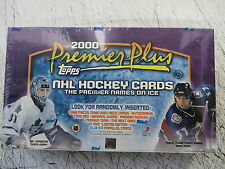 1999-00 TOPPS PREMIER PLUS HOCKEY HOBBY SEALED BOX
