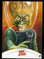 2013 Topps Mars Attacks Invasion Sketch Card by TIM PROCTOR (a)
