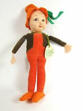 Antique Nora Wellings Little Pixie People Rare Cloth doll Vintage