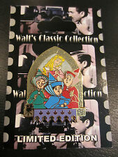 Disney Classic Sleeping Beauty Flora Fauna Merryweather Fairies Pin LE