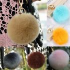 Accessory New Ball Fur PomPom For Cell Phone Car Keychain Pendant Bag Pompon