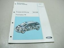 FORD GALAXY 1997 Technisches Service Training 00/268