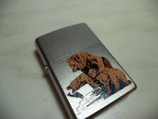 ZIPPO ACCENDINO LIGHTER BEAR PRIMER VERY RARE NEW + INSERTO JET FLAME
