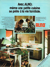 PUBLICITE ADVERTISING 025  1978  ALNO  cuisines ALNOSOFT