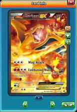FA Charizard-EX Promo FULL ART for Pokemon TCG Online (in Game PTCGO Card)