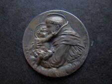 medalla chapa religiosa antigua SAN ANTONIO DE PADUA  medal religious
