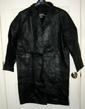 Via Accenti Black Leather Jacket -- A8 -- 2-9898-4