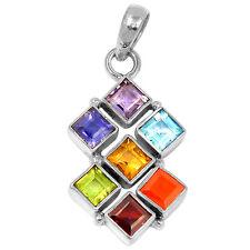 Healing Chakra 925 Sterling Silver Pendant Jewelry CP126
