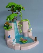 Playmobil Waterfall / Pond Tree Flowers Animals for Fairy Forest Castle Palace
