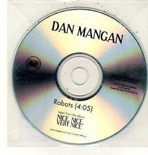(DC907) Dan Mangan, Robots - 2010 DJ CD
