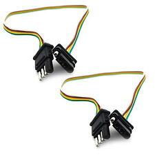2 Quick Release 4 Wire Plug for Harley Touring Saddlebag Lights & Tour-Paks