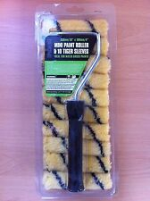 "10"" Mini Paint Roller + 10 x 4"" Tiger Sleeves Great Value!"