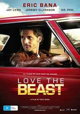 LOVE THE BEAST Movie POSTER 11x17 Australian Eric Bana Jeremy Clarkson Steve