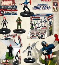 Heroclix Captain America 3 Figure Gravity Feed Lot 205 Black Widow 206 Sin 209