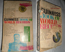 Guinnes Book Of World Records 1966 McWhirter Lingua Inglese English Language