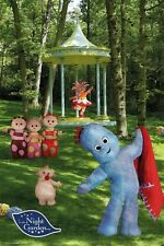IN THE NIGHT GARDEN ~ CAST AND GAZEBO ~ 24x36 BBC TELEVISION POSTER ~ BRAND NEW!