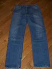 "MEN'S VINTAGE USA  LEVI'S 505 REGULAR FIT DENIM JEANS W 36"" L 36""  INDIGO BLUE"