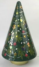 RARE MARKS AND SPENCERS ROTATING MUSICAL CHRISTMAS TREE BISCUIT TIN