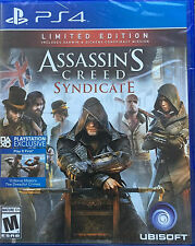 PS4 Playstation 4 GAME ASSASSIN'S CREED SYNDICATE Limited Edition BRAND NEW