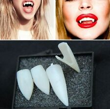 VAMPIRE FANGS CUSTOM FIT TEETH HALLOWEEN FANCY DRESS DRACULA CAPS Twilight Prop