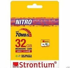 Strontium 32 GB Micro SD Memory Card Class 10 NITRO 70MB/S 32gb micro sdhc card
